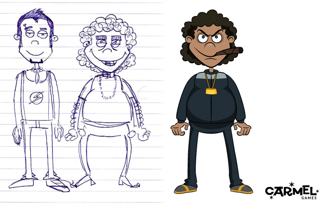 Character design: Punko