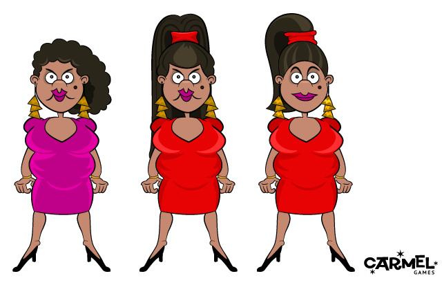Character design: Charlene