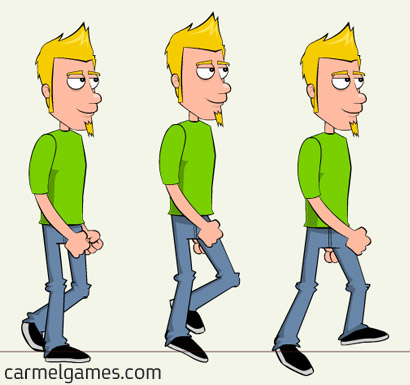 Walk cycle - animation