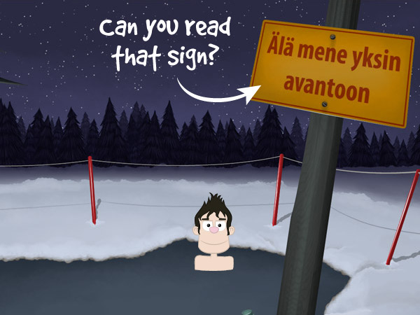 Finland adventure game