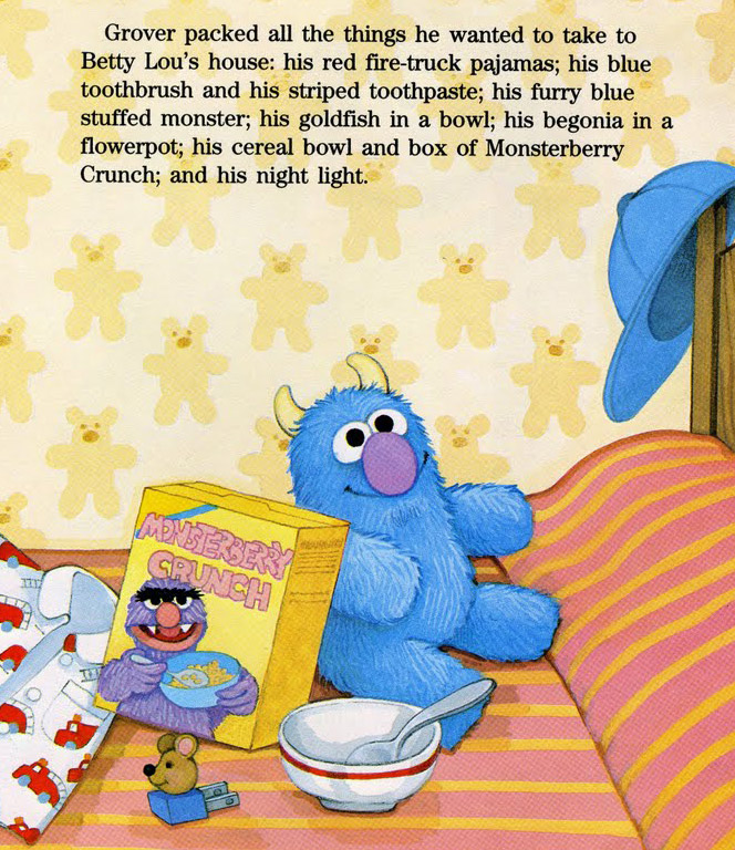 Grover sleeps over